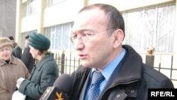 """Асылбек Кожахметов, руководитель общественной организации """"Шанырак""""."""