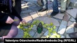 70-і роковини масштабної акції Голокосту в урочищі Сосонки, 7 листопада 2011 року
