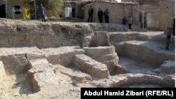تنقيبات آثارية في قلعة اربيل