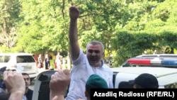 Ադրբեջան - Թբիլիսիում առևանգված Աֆգան Մուխթարլիին բերում են Բաքվի դատարան, 31-ը մայիսի, 2017թ․