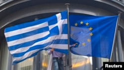 Греция менен Евробиримдиктин желектери