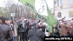 Акция протеста на Болотной площади в Москве 6 мая 2013 года
