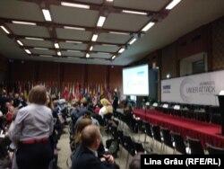 La conferința OSCE de la Viena