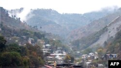 Muzaffarabad, the capital of Pakistani-administered Kashmir