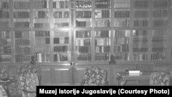 Titova biblioteka u Beogradu u Užičkoj 15, foto: Muzej istorije Jugoslavije