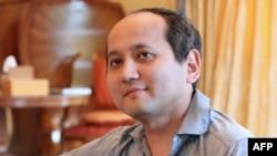 Мухтар Аблязов, бывший банкир и политэмигрант. 15 августа 2010 года.
