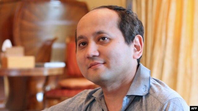 Dissident Kazakh oligarch Mukhtar Ablyazov (file photo)