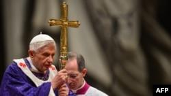 پاپ فرانسیس رهبر کاتولیکان جهان