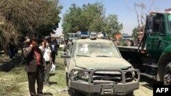 Взрыв на западе Кабула