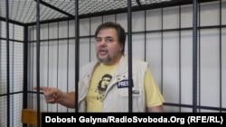 Руслан Коцаба в Івано-Франківському міському суді, 17 липня 2015 року