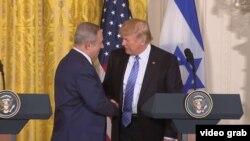 Біньямін Нетаньягу (Л) і Дональд Трамп