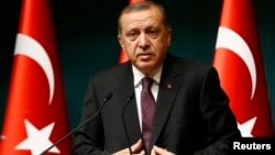 Թուրքիայի նախագահ Ռեջեփ Էրդողան, հունվար, 2015թ․