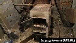 Баня, в которой чуть не сгорела Савельева