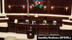 Azerbaijan -- session of parliament - 14Mar2014