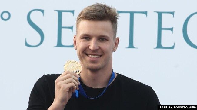Український плавець Андрій Говоров. Рим, 1 липня 2018 року
