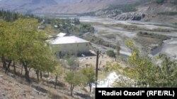 The Shughnon border post of Tajikistan's Badakhshan region (file photo)