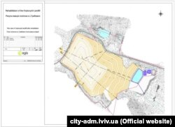 Проект рекультивації полігону у селі Грибовичі