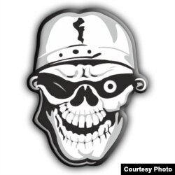 Эмблема байкерского клуба Hooligans MC