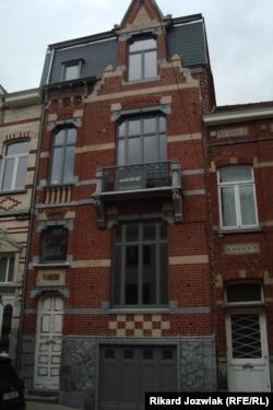 Дом в Брюсселе, где жил генерал Врангель