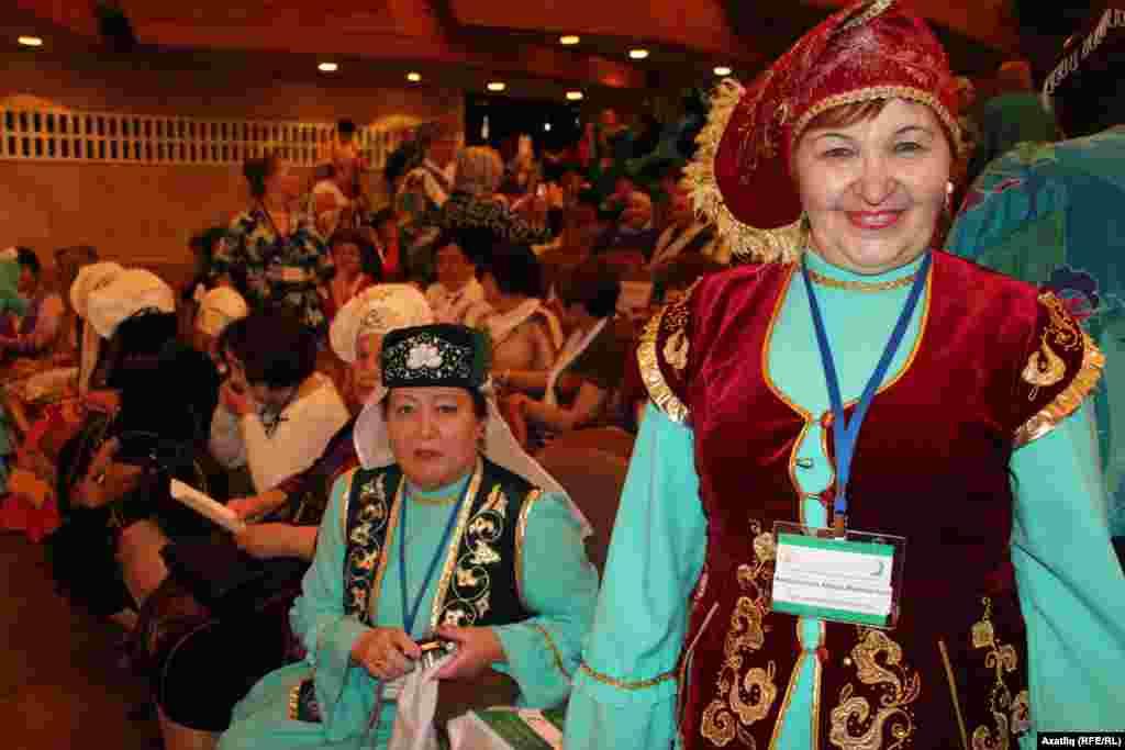 Форумның Татарстан делегат хатын-кызлары