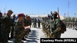 قطعه مرگ، اردوی ملی افغانستان
