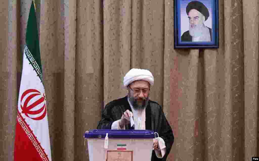 Iran- Sadegh Larijani- June 14, 2013