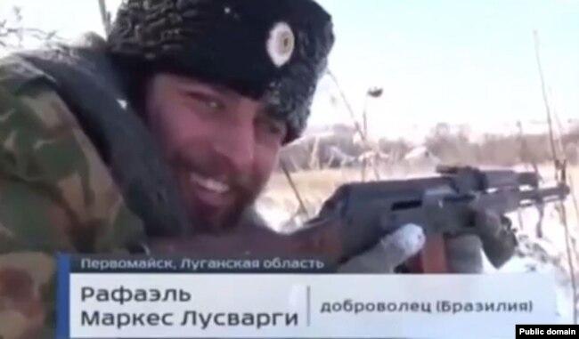 Рафаель Лусваргі у сюжеті російського телеканалу «Росія-1»