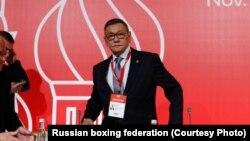 2018 йилнинг 3 ноябрь куни Ғафур Раҳимов AIBA президенти этиб сайланган эди.