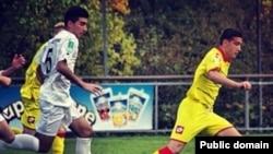 Russia -- Armenian football (soccer) player Davit Ghazarian, undated