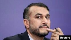 Iranian Deputy Foreign Minister Hossein Amir Abdollahian (file photo)