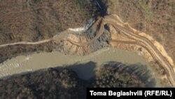 Место строительства ГЭС