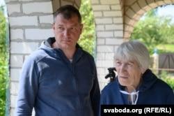 Галіна Андрэйчык з сынам