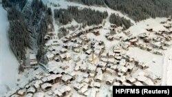 Ишгль чаңгы курорту, Австрия.