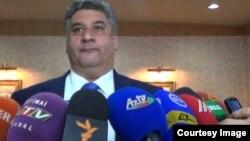 Министр молодежи и спорта АзербайджанаАзад Рагимов