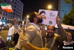 Сторонник Ибрагима Раиси. Тегеран, 17 мая