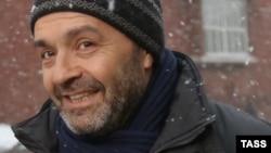 Виктор Шендерович после посещения Следственного комитета. 10 декабря 2014 года