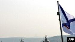 Суда российского Черноморского флота в гавани Севастополя. 28 июля 2011 г