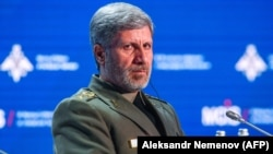 Iranian Defense Minister Amir Hatami (file photo)