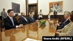 Susret Zukorlića i Nikolića u Novom Pazaru bio je politička bomba: Fotografija sa još jednog susreta, konsultacije o novoj Vladi 2016.