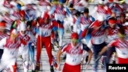 Масс-старт на Олимпиаде в Сочи