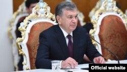 Узбекистанскиот претседател Шавкат Мирзијаев