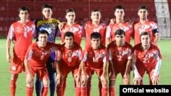 Сборная Таджикистана (U-17) по футболу. Фото Федерации футбола Таджикистана