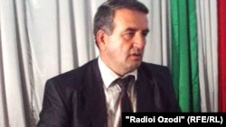 Tajikistan -- Abdulmu'min Ulfatov, the head of Qubodiyon region, 24Oct2010