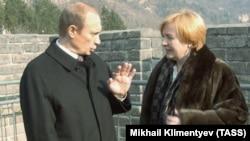 Владимир Путин с супругой Людмилой, 2002 год