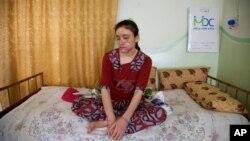 Ламия Аджи Башар – 18-летняя езидская девушка, которой удалось бежать из рабства исламистов.