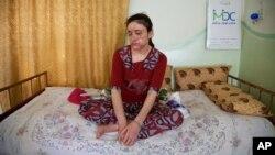 Ламия Аджи Башар - 18-летняя езидская девушка, которой удалось бежать из рабства исламистов