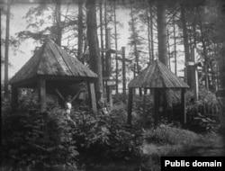 Крыжы ў Будславе, фота да 1939 году