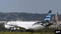 Захваченный ливийский самолёт