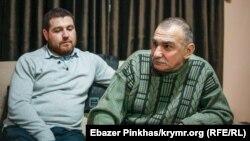 Фигурант «дела Веджие Кашка» Казим Аметов (п) после перевода из СИЗО под домашний арест, 24 января 2019 года