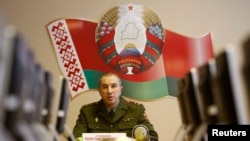 Белорускиот министер за внатрешни работи Јури Карајев